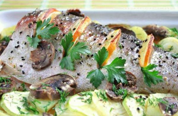 Рыба по-сицилийски