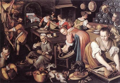 кухня в древнем мире