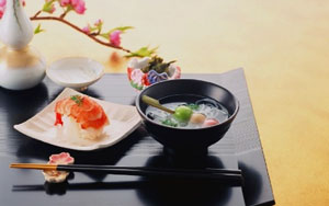 японский обед