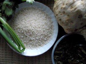 Рис перед варкой
