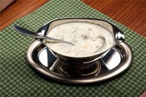 соус с йогуртом
