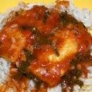 Мерлуза в томатном соусе