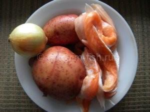 готовить блюдо из брюшек семги