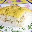 запеканка из рыбы и риса