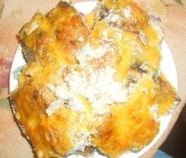 Горбуша под сметанно-сырным соусом
