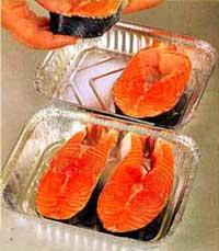 стейки лосося для запекания