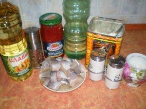 Рыба для тушения в томате