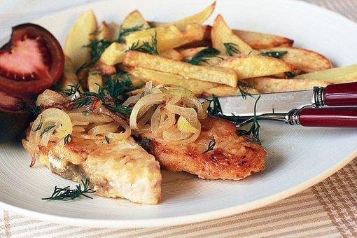 осетровая рыба запеченная с картофелем