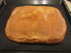 пирог с палтусом