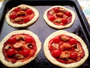 Формирование пиццы