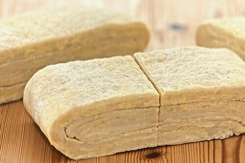 полуслоеное тесто