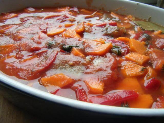 Путассу с морковью