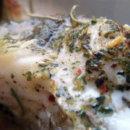 Толстолобик запеченный с розмарином