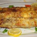 Готовая запеканка из белой рыбы