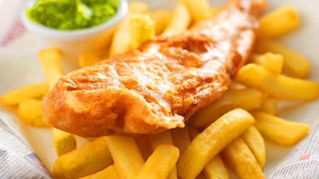 Рыба жареная во фритюре