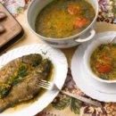 Протертый суп из бычков