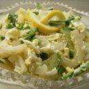 Салат из кальмаров и свежих огурцов