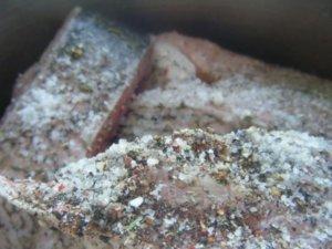 Толстолобик с солью и перцем