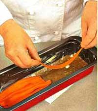 Слой моркови в рыбном торте