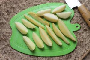 Картофель нарезанный для супа