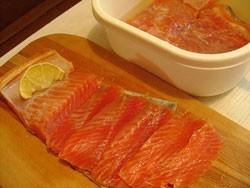 Быстрая засолка рыбы