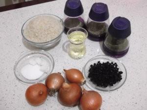 рис и специи для плова