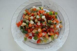 Мороженные овощи