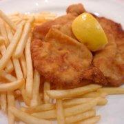 Шницель из рыбы