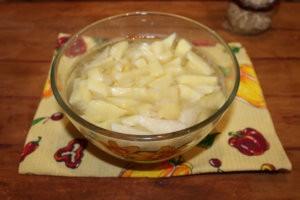 Подготовка картофеля для супа