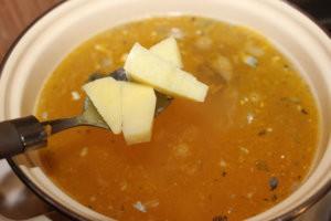 Картофель в супе