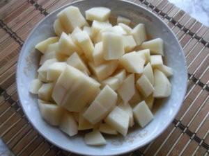 Картофель для рыбного супа