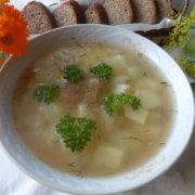 рыбный суп из голов леща