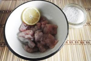 Лимонный маринад для рыбы