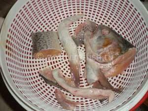 Части рыбы для супа