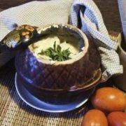 Рыба с картошкой в горшочке