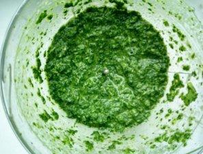 Мятный соус в блендере