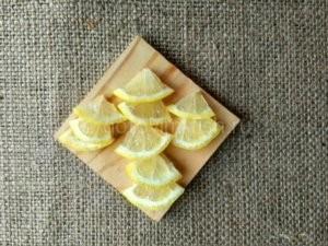 лимон для рыбы