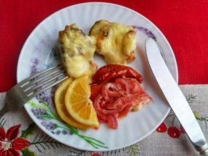 Сибас запеченный в духовке