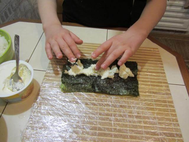 сыр филадельфия для суши