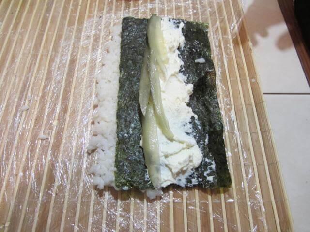 соленый огурец для начинки суши